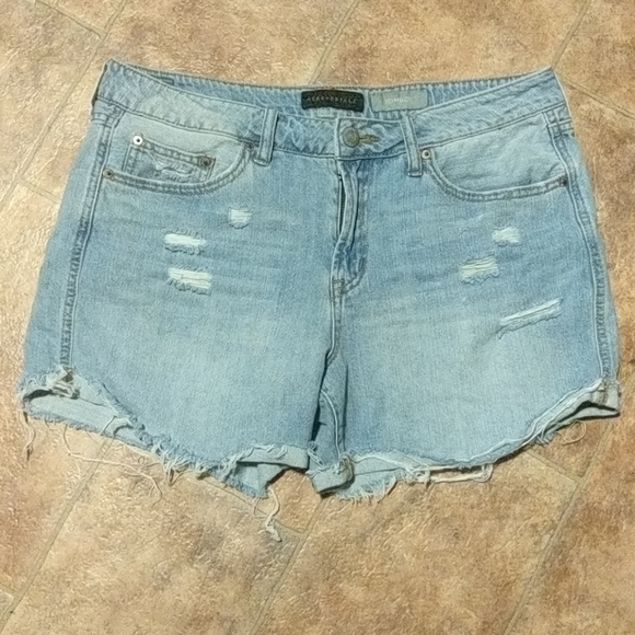 Aeropostale Pants - Distressed high waist shorts